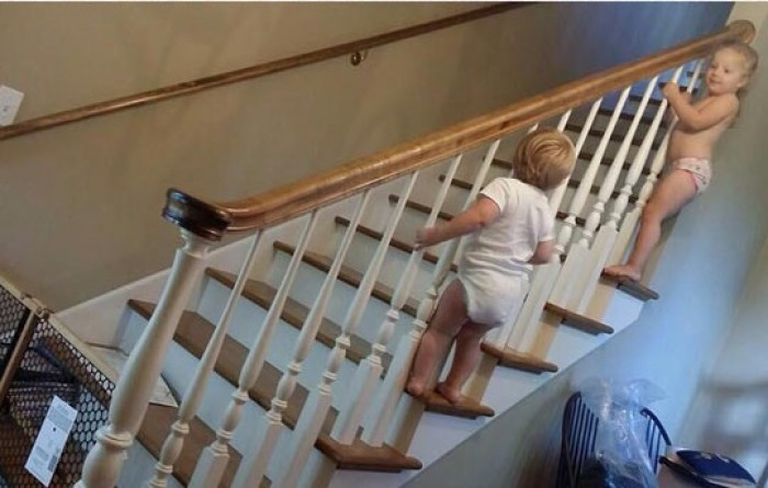 Baby gates make every house safer...