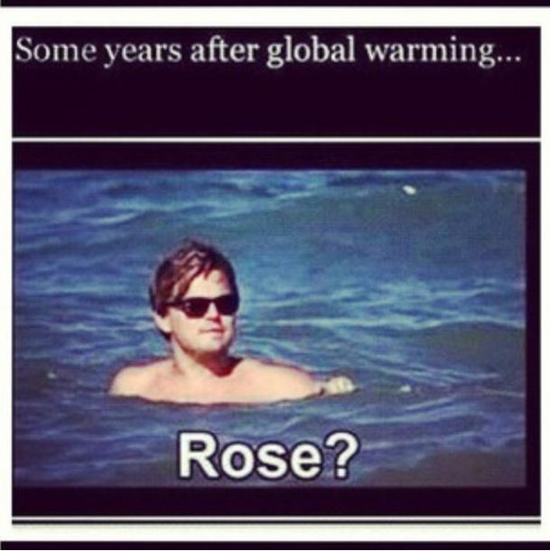 Titanic - Some years after global warming - Rose ?