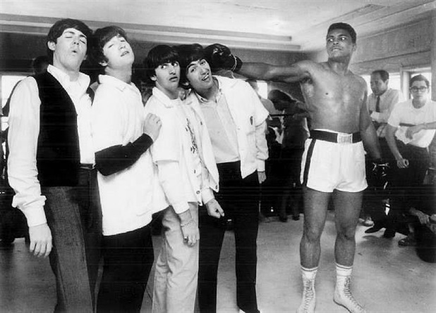 Download This Image Muhammad Ali And Beatles Famous Photo