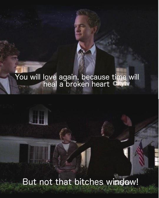 How I Met Your Mother - You will love again, because time will heal a broken heart