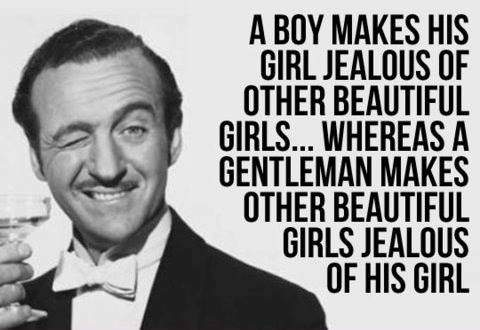 A boy makes his girl jealous of other beautiful girls...