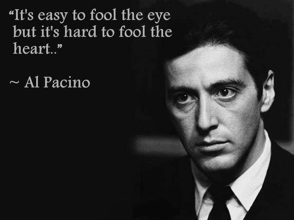 It's Easy To Fool The Eye But It's Hard To
