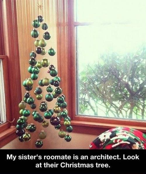 Architect Christmas tree