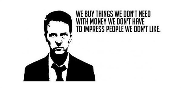 We Buy Things We Don't Need With Money We Don't Have To