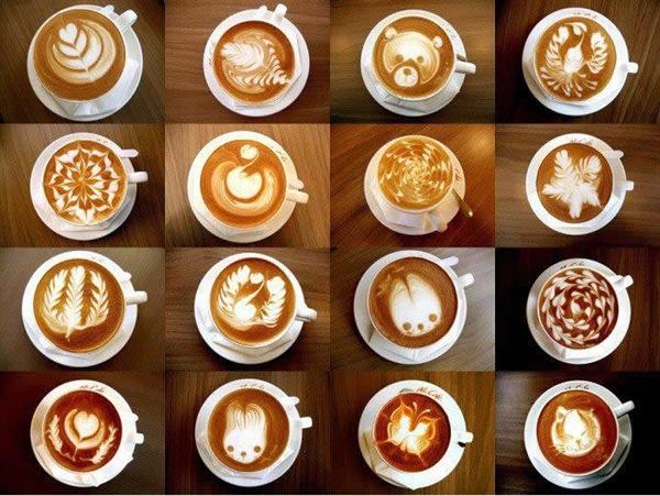 Coffee artist
