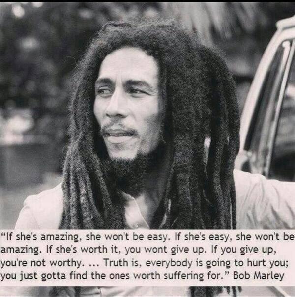 Bob Marley - If She's amazing...