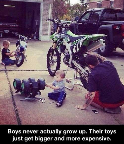 Boys Never Grow Up