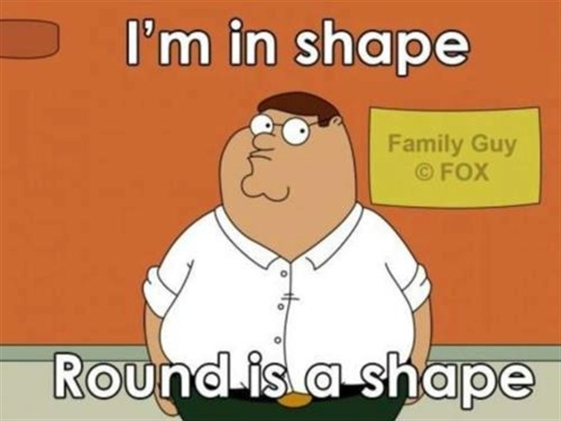 I'm in shape