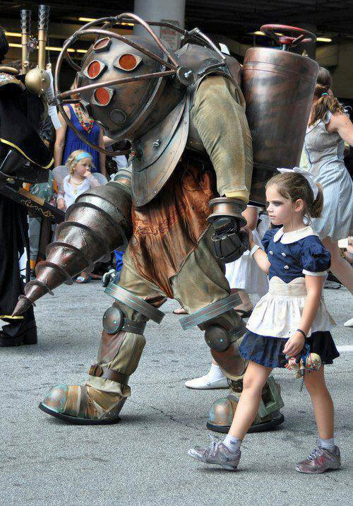 Father And Daughter BioShock Costume