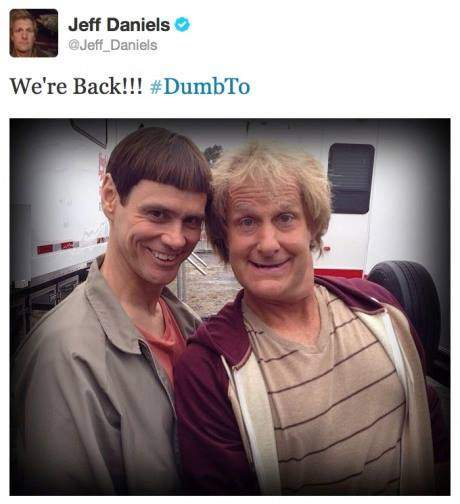 First look from the set of Dumb and Dumber 2