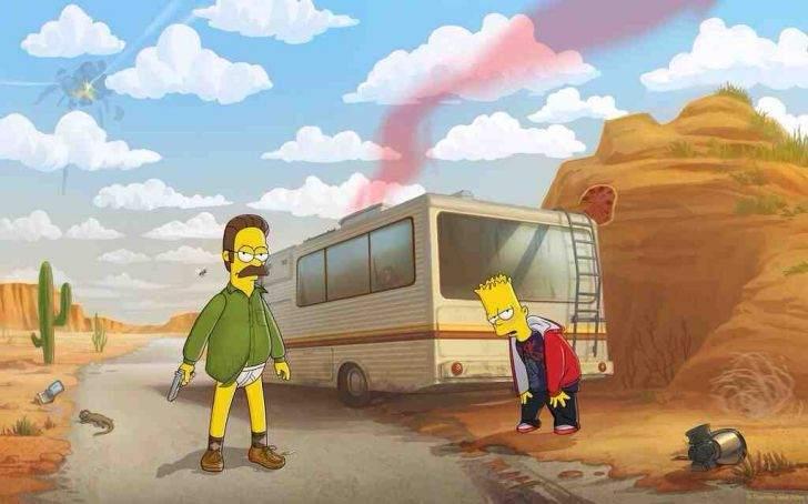 Flanders Breaking Bad