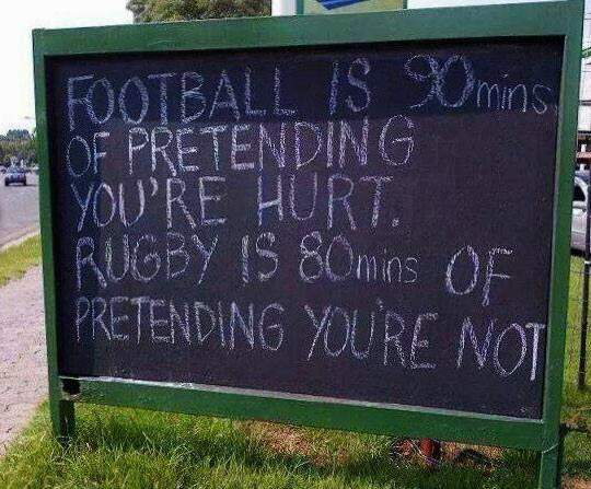 Football Vs. Rugby