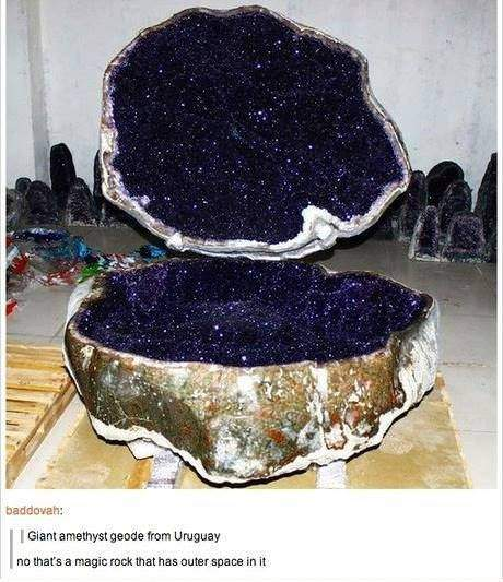 Giant amethyst geode from Uruguay