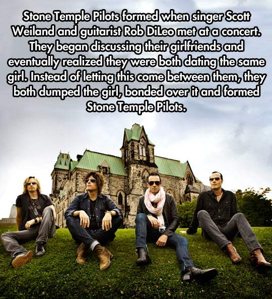How Stone Temple Pilots formed.