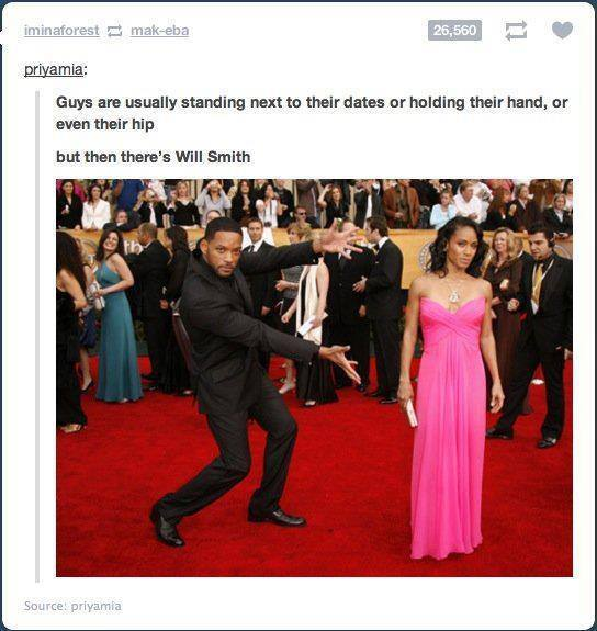 How Will Smith Presents His Wife