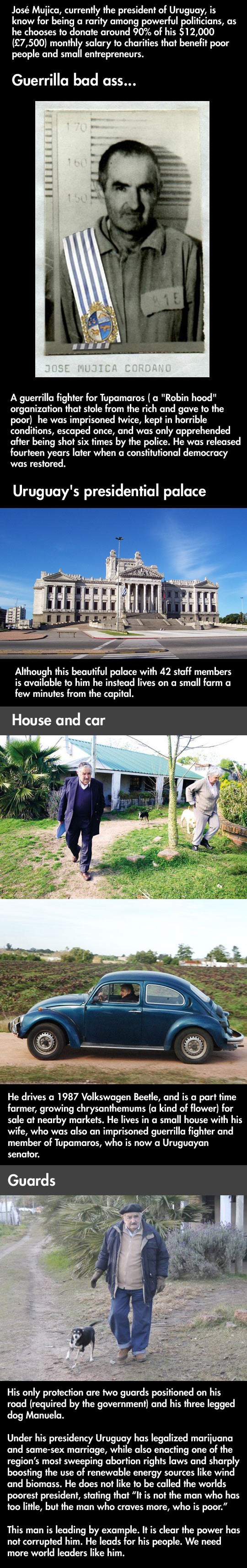 Jose Mujica, More than a President