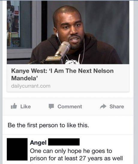Kanye West: I'm Am The Next Nelson Mandela