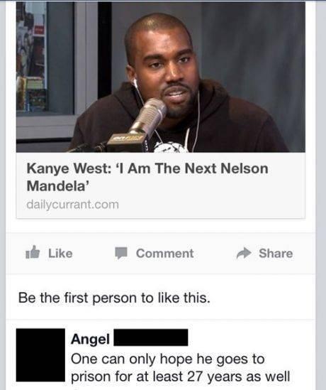 Kanye West: I'm Am The Next Nelson Mandela