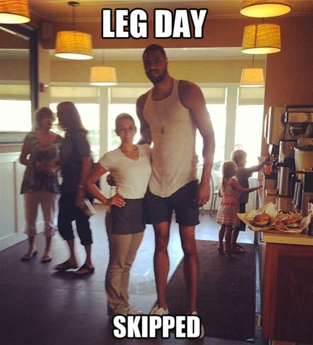 Leg day skipped!