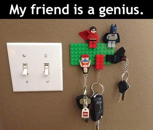 Lego Key Chains Genius 9buz