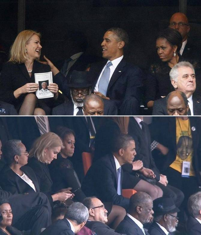 Looks like Barack was flirting too much with this Danish prime minister.