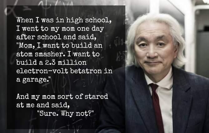 Michio Kaku - An Atom Smasher in the Garage