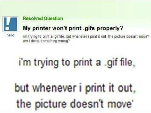 printer wont print