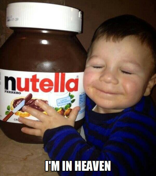Nutella kid - I'm in heaven
