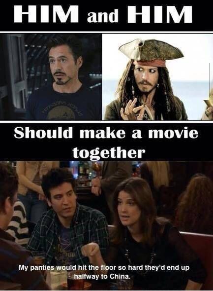 Robert Downey Jr. And Johnny Depp Should make a movie together ...