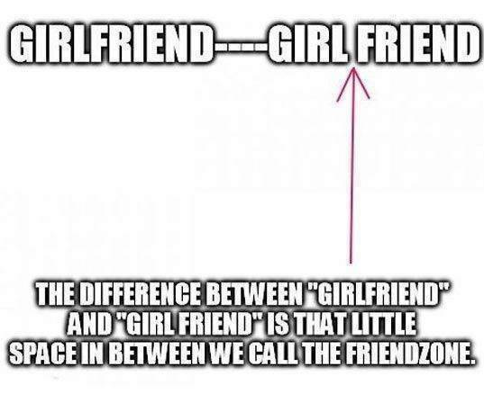 The difference between Girlfriend and Girl friend