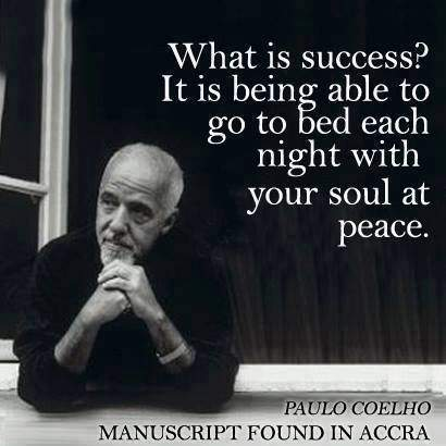 What is success? by Paulo Coelho