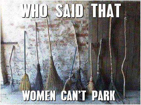Who said that women can't park!?