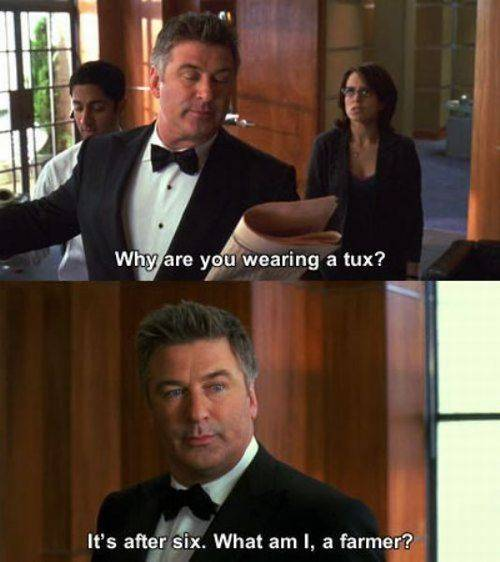 Why are you wearing a tux?