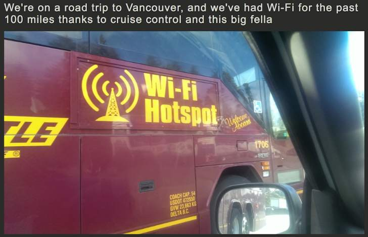 WIFI On The Bus