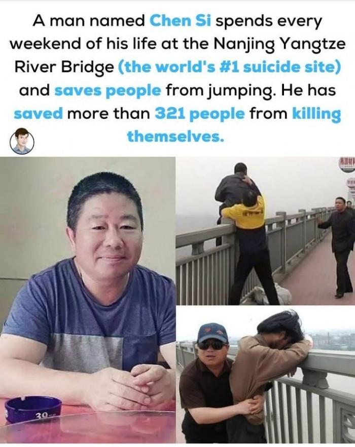 Chen Si Saving Lives