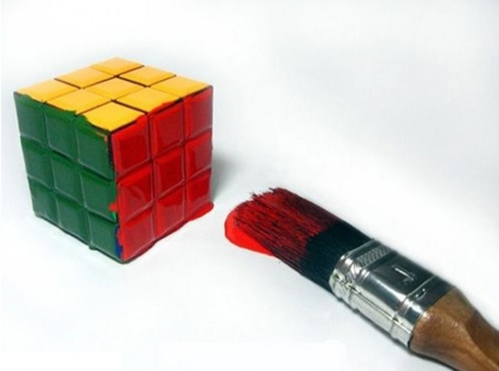 Simplest rubiks cube solution