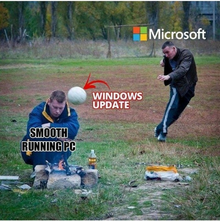 Windows update vs. Smooth running PC