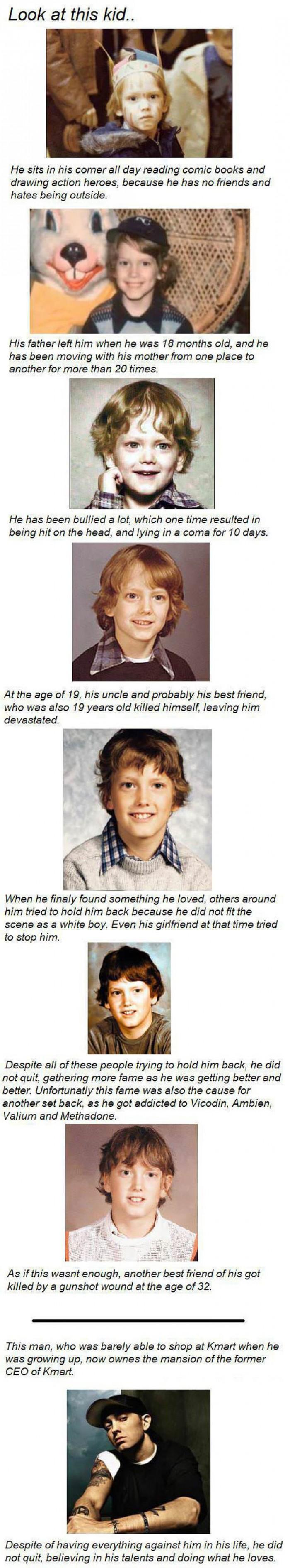 Eminem (Marshall Bruce Mathers) Life Story