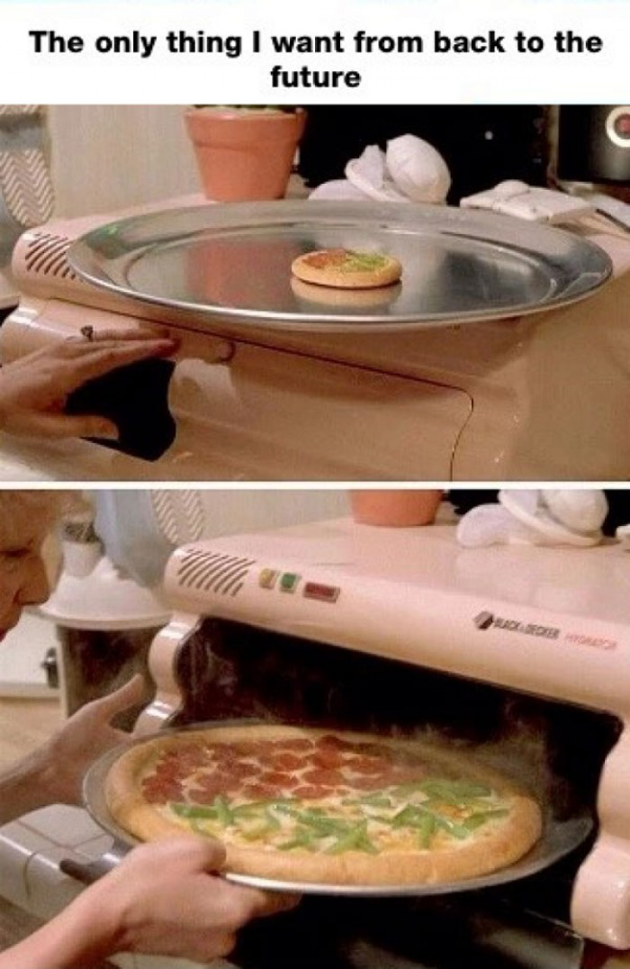 The only thing I want from Back to the future