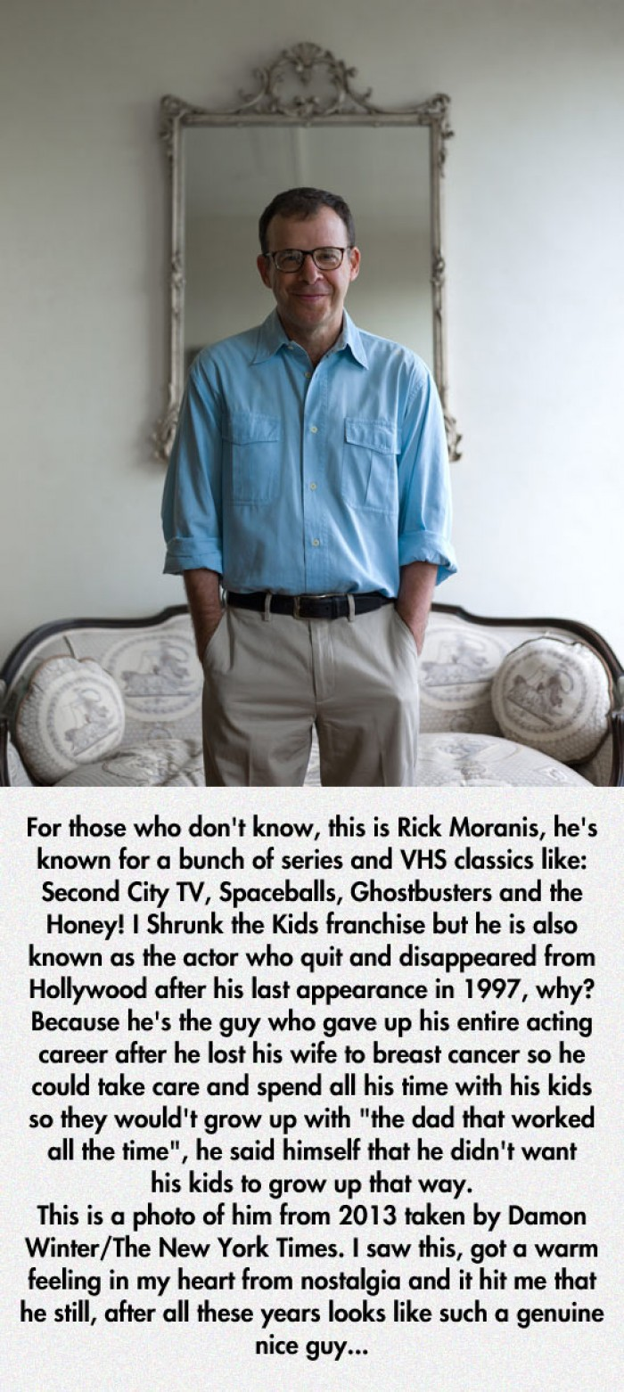 This is Rick Moranis