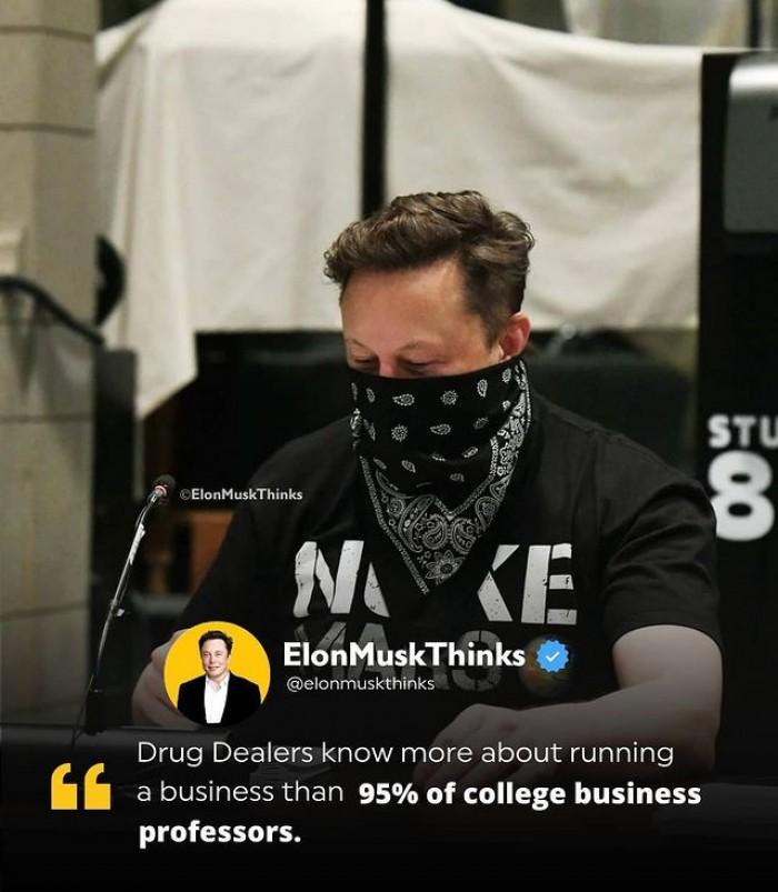 Drug Dealers vs Business Professors