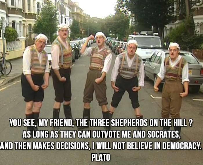 Plato - Democracy...