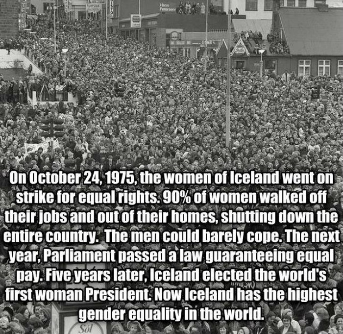 International Women's Day History On Oct. 24, 1975
