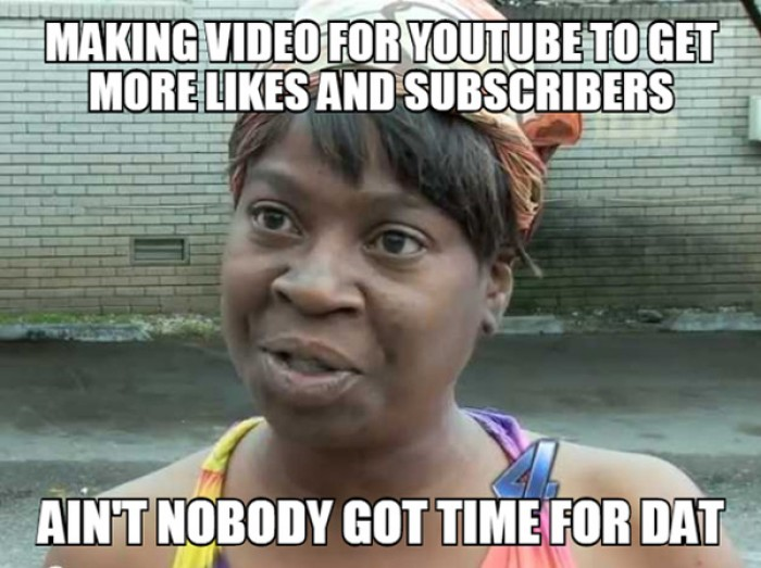 Making video for youtube to get more likes and subscribers