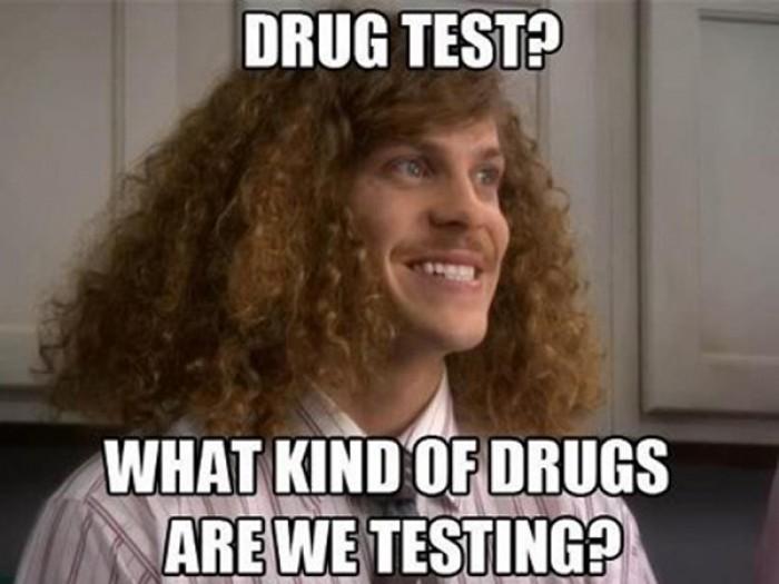Drug test?