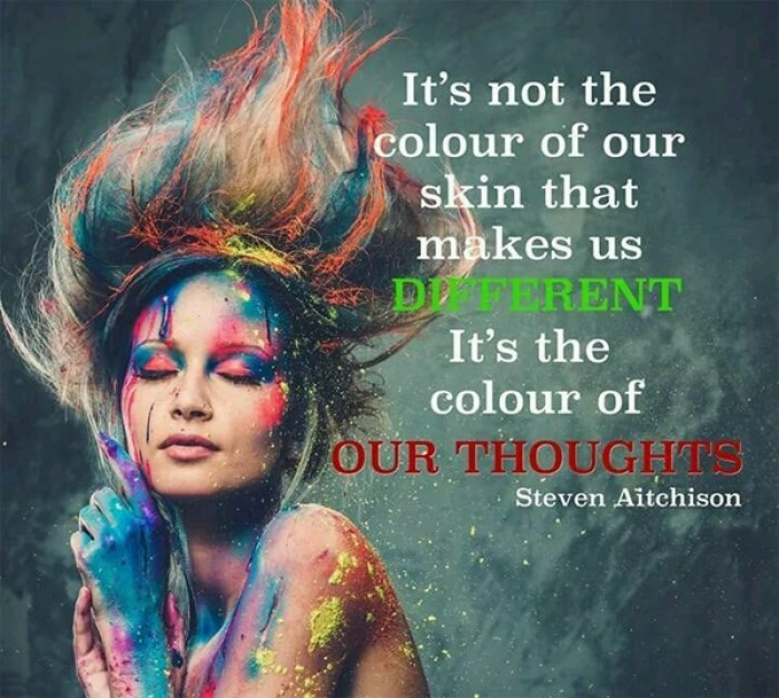 Steven Aitchison - It's not the color of your skin; it's the content of your character