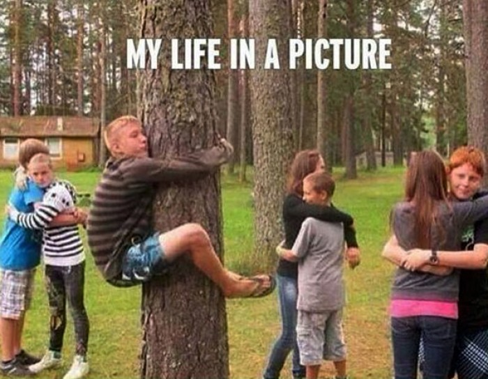 My life in a picture.