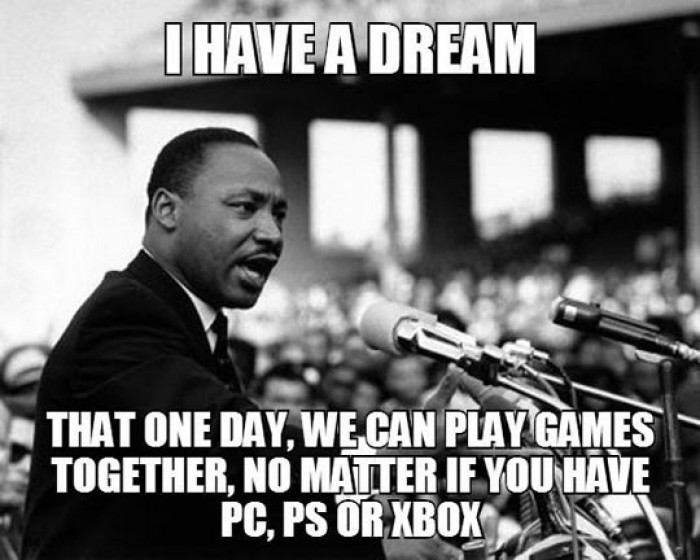 I have a dream.. Gamers dream...