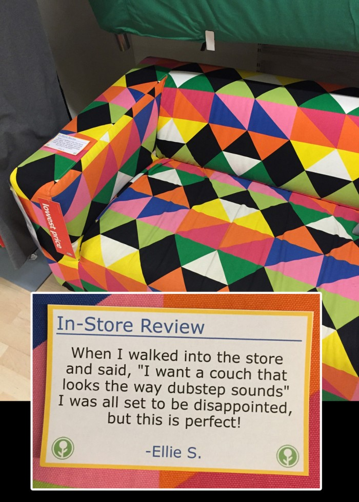 Couch In-Store review