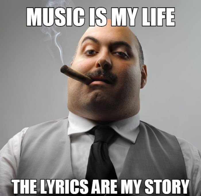 Music is my life the lyrics are my story - 9buz